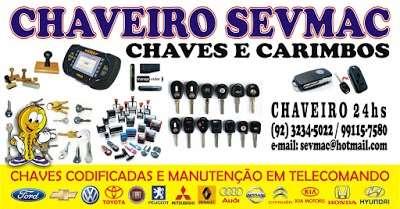 CHAVEIRO 24 HORAS - SEVMAC